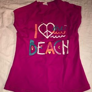 Beach cover up girls size 10